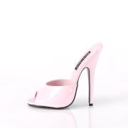 Rosa 15 cm DOMINA-101 High heel mules for men