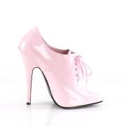 Rosa 15 cm DOMINA-460 tacco alto scarpe oxford uomo
