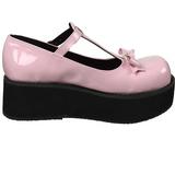 Rosa 6 cm DEMONIA SPRITE-03 scarpe lolita con plateau