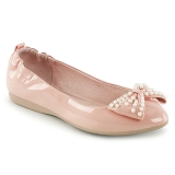 Rosa IVY-09 ballerine scarpe basse donna con perle
