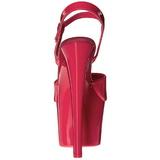 Rosa Neon 18 cm Pleaser SKY-309UV Plateau Tacchi Alti a Spillo