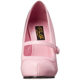 Rosa Vernice 12 cm retro vintage CUTIEPIE-02 scarpe mary jane con plateau nascosto