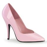 Rosa Vernice 13 cm SEDUCE-420V scarpe décolleté a punta