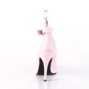 Rosa Vernice 13 cm SEDUCE-431 Tacchi altissimi da uomo