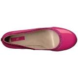 Rosa Verniciata 10 cm QUEEN-04 grandi taglie scarpe décolleté