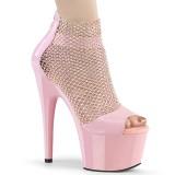 Rose 18 cm ADORE-765RM glitter platform high heels