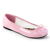 Rose Patent ANNA-01 big size ballerinas shoes