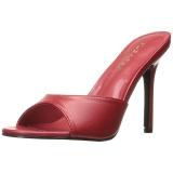 Rosso 10 cm CLASSIQUE-01 ciabatta donna tacco basso