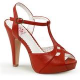 Rosso 11,5 cm BETTIE-23 Sandali da Sera con Tacco Alto