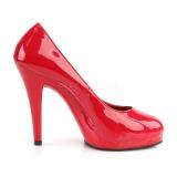 Rosso 11,5 cm FLAIR-480 Scarpe da donna con tacco altissime
