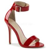 Rosso 13 cm Pleaser AMUSE-10 sandali tacchi a spillo