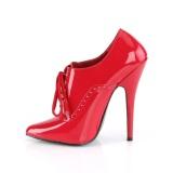 Rosso 15 cm DOMINA-460 tacco alto scarpe oxford uomo