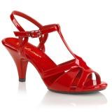 Rosso 8 cm Fabulicious BELLE-322 sandali tacchi a spillo