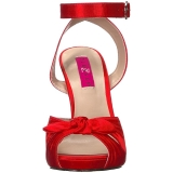 Rosso Raso 12,5 cm EVE-01 grandi taglie sandali donna