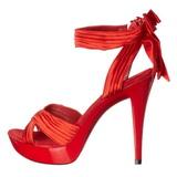 Rosso Raso 13 cm COCKTAIL-568 Sandali Tacco Altissimo
