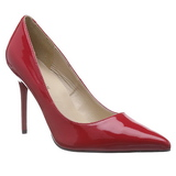 Rosso Vernice 10 cm CLASSIQUE-20 Scarpe Décolleté Tacco Stiletto