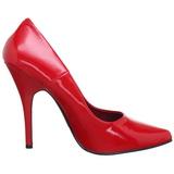Rosso Vernice 10 cm VANITY-420 scarpe décolleté a punta elegante