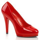 Rosso Vernice 11,5 cm FLAIR-480 scarpe décolleté per uomo