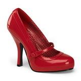 Rosso Vernice 12 cm retro vintage CUTIEPIE-02 scarpe mary jane con plateau nascosto