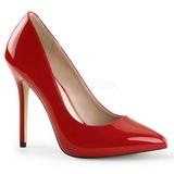 Rosso Vernice 13 cm AMUSE-20 Tacchi altissimi da uomo