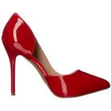 Rosso Vernice 13 cm AMUSE-22 Tacchi altissimi da uomo