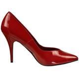 Rosso Vernice 13 cm SEDUCE-420V scarpe décolleté a punta
