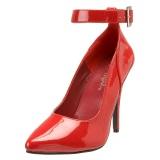 Rosso Vernice 13 cm SEDUCE-431 Tacchi altissimi da uomo