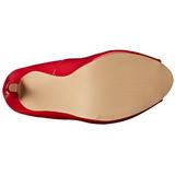 Rosso Vernice 13 cm SEXY-42 Scarpe Décolleté Classico Donna