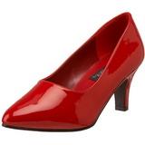 Rosso Vernice 8 cm DIVINE-420W Tacchi altissimi da uomo