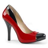 Rosso Verniciata 12,5 cm EVE-07 grandi taglie scarpe décolleté