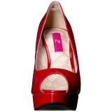Rosso Verniciata 13,5 cm CHLOE-01 grandi taglie scarpe décolleté