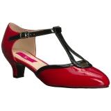 Rosso Verniciata 5 cm FAB-428 grandi taglie scarpe décolleté