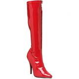 Rosso Verniciato 13 cm Pleaser SEDUCE-2000 Stivali Donna