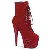Rosso glitter 18 cm ADORE-1020FSMG stivaletti exotic pole dance