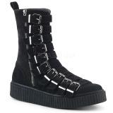 Scamosciate 4 cm SNEEKER-315 sneakers creepers scarpe da uomo
