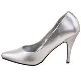Silver Matte 10 cm VANITY-420 Women Pumps Shoes Flat Heels