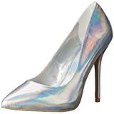 Silver Matte 13 cm AMUSE-20 Women Pumps Shoes Stiletto Heels