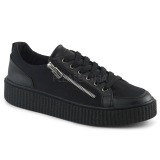 Tela 4 cm SNEEKER-105 sneakers creepers scarpe da uomo