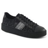 Tela 4 cm SNEEKER-106 sneakers creepers scarpe da uomo