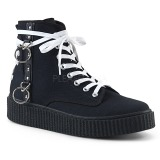 Tela 4 cm SNEEKER-256 sneakers creepers scarpe da uomo