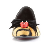 Tiger Leatherette VAIL-02 flat ballerinas womens shoes