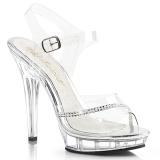 Transparent 13 cm LIP-108R2 Bikini posing high heel shoes fabulicious