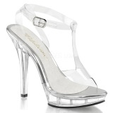 Transparent 13 cm LIP-118 Womens Shoes with High Heels