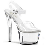 Transparent 18 cm SKY-308 High Heels Platform