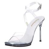 Trasparente 11,5 cm CHIC-06 Sandali Tacchi a spillo scarpe