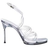 Trasparente 11,5 cm CHIC-07 Sandali Tacchi a spillo scarpe