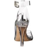 Trasparente 11,5 cm CLEARLY-430 Sandali da Sera con Tacco