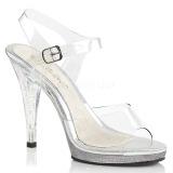 Trasparente 11,5 cm FLAIR-408MG scarpe tacco alto numeri grandi per uomo