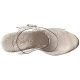 Trasparente 25,5 cm BEYOND-008 tacchi estremi - scarpe tacco più plateau alto