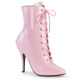 Vegan 13 cm SEDUCE-1020 transvestite ankle booties